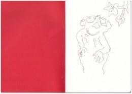 Im Zoo - Erdhörnchen (c) Zeichnung von Susanne Haun
