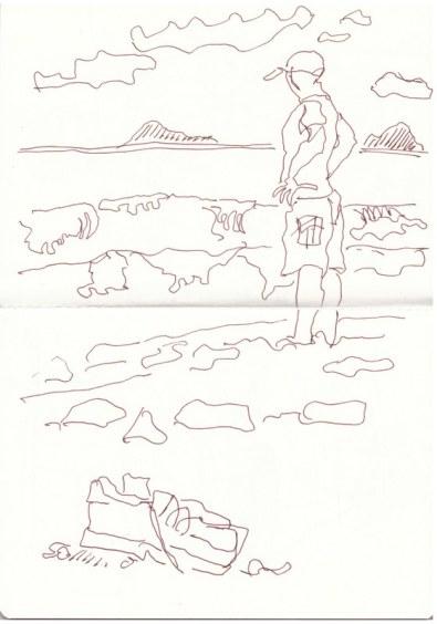 Sizilien Acquedolci (c) Zeichnung von Susanne HaunSizilien Acquedolci (c) Zeichnung von Susanne Haun