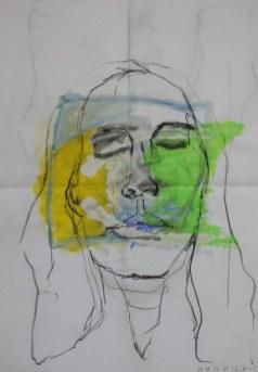 Heike Portrait 1 (c) Zeichnung von Heike Schnittker