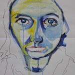 Heike Portrait 2 (c) Zeichnung von Heike Schnittker