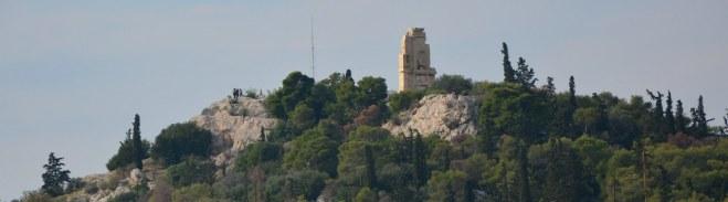 Athen Akropolis Museum Dachterasse (c) Foto von M.Fanke