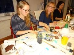 Impressionen Weihnachts-Workshop bei Susanne Haun (c) Foto von Susanne HaunImpressionen Weihnachts-Workshop bei Susanne Haun (c) Foto von Susanne Haun