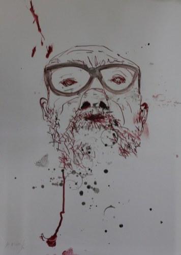 Zeichnung von Jürgen Küster