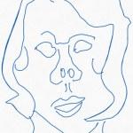 Portrait Nr. 12 (c) Zeichnung iPad von Susanne Haun
