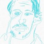 Portrait Nr. 17 (c) Zeichnung iPad von Susanne Haun
