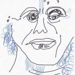 Portrait Nr. 18 (c) Zeichnung iPad von Susanne Haun