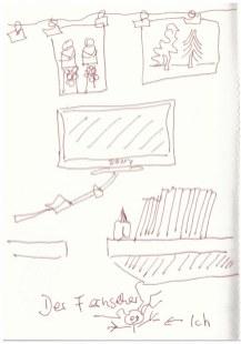Mein Fernseher(c) Zeichnung von Susanne Haun