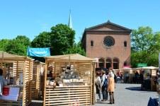 Weddingmarkt in Berlin auf dem Leopoldplatz (c) Foto von M.Fanke