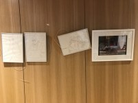 ibliothek, Ausstellung Querbrüche Obdachlos, Susanne Haun © Foto von M.Fanke
