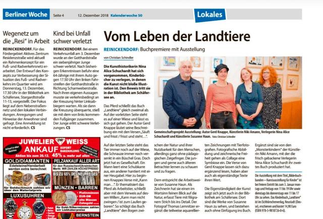 Berliner Woche 17. Dezember 2018, BilderBuchBanden Seite 4