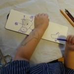 Workshop Collage Eichhoernchenverlag - Travel Journal - Foto von Nina Alice Schuchardt
