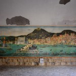 Neapel - Castel dell Ovo Fliesen Mosaik im Eingangsbereich - Foto von M.Fanke