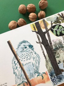 Ergänzungen zu Idas Weg (c) Zeichnungen von Fulya Gezer und Susanne Haun