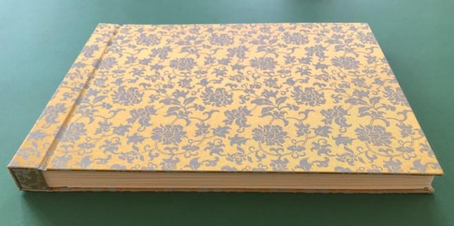 Detail Einband des Künstlerbuches für Itha Bonitz (c) Susanne Haun
