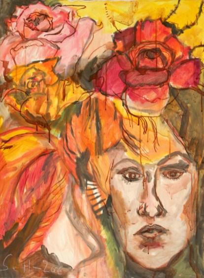 Herbst, Asyl im Paradies, Gemälde von Susanne Haun (c) VG Bild-Kunst, Bonn 2020