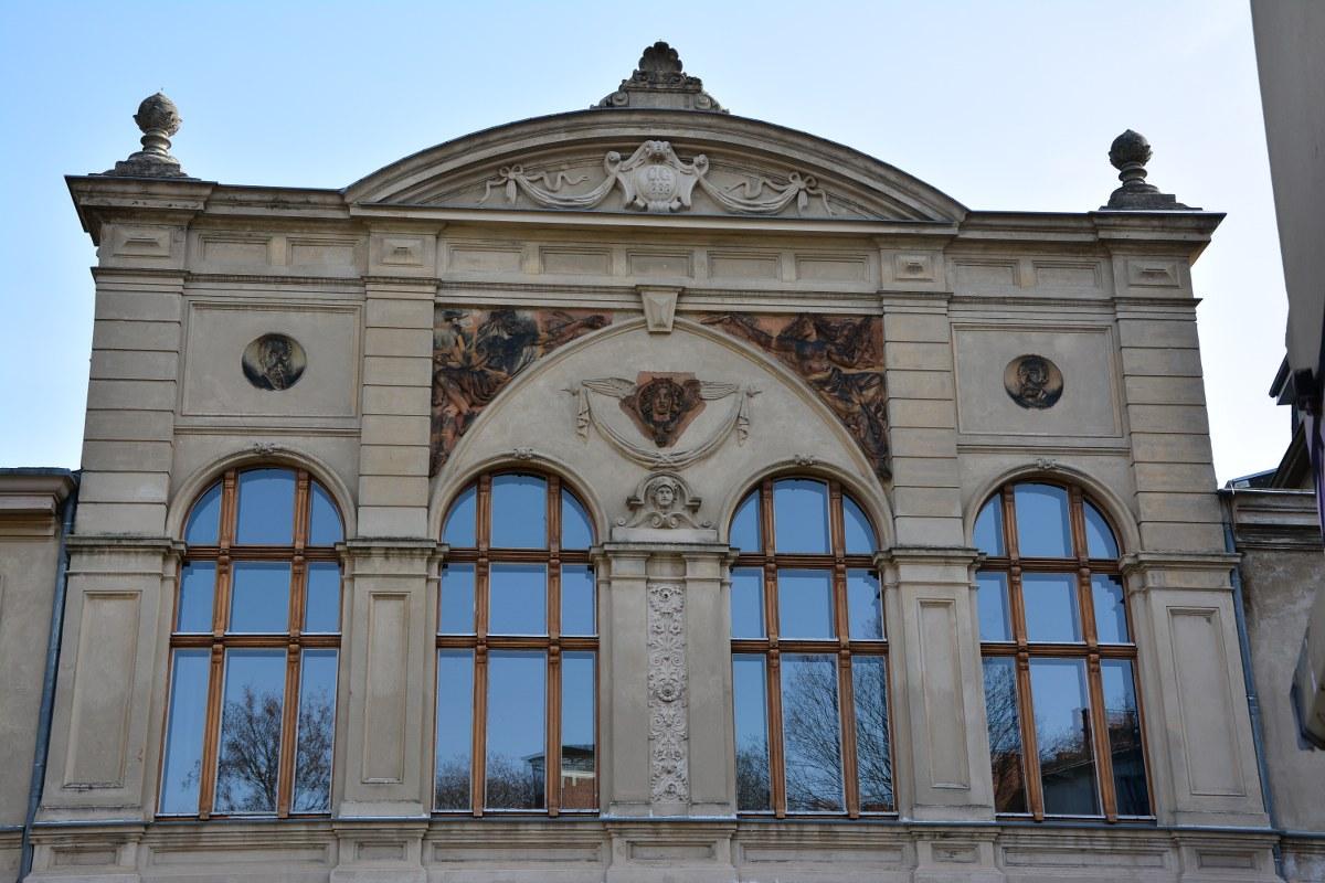 Weddingspaziergang, Luisenbibliothek (c) Foto von M.Fanke