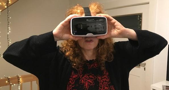 Virtuelle Ausstellung Crossart Susanne Haun (c) Foto von M.Fanke