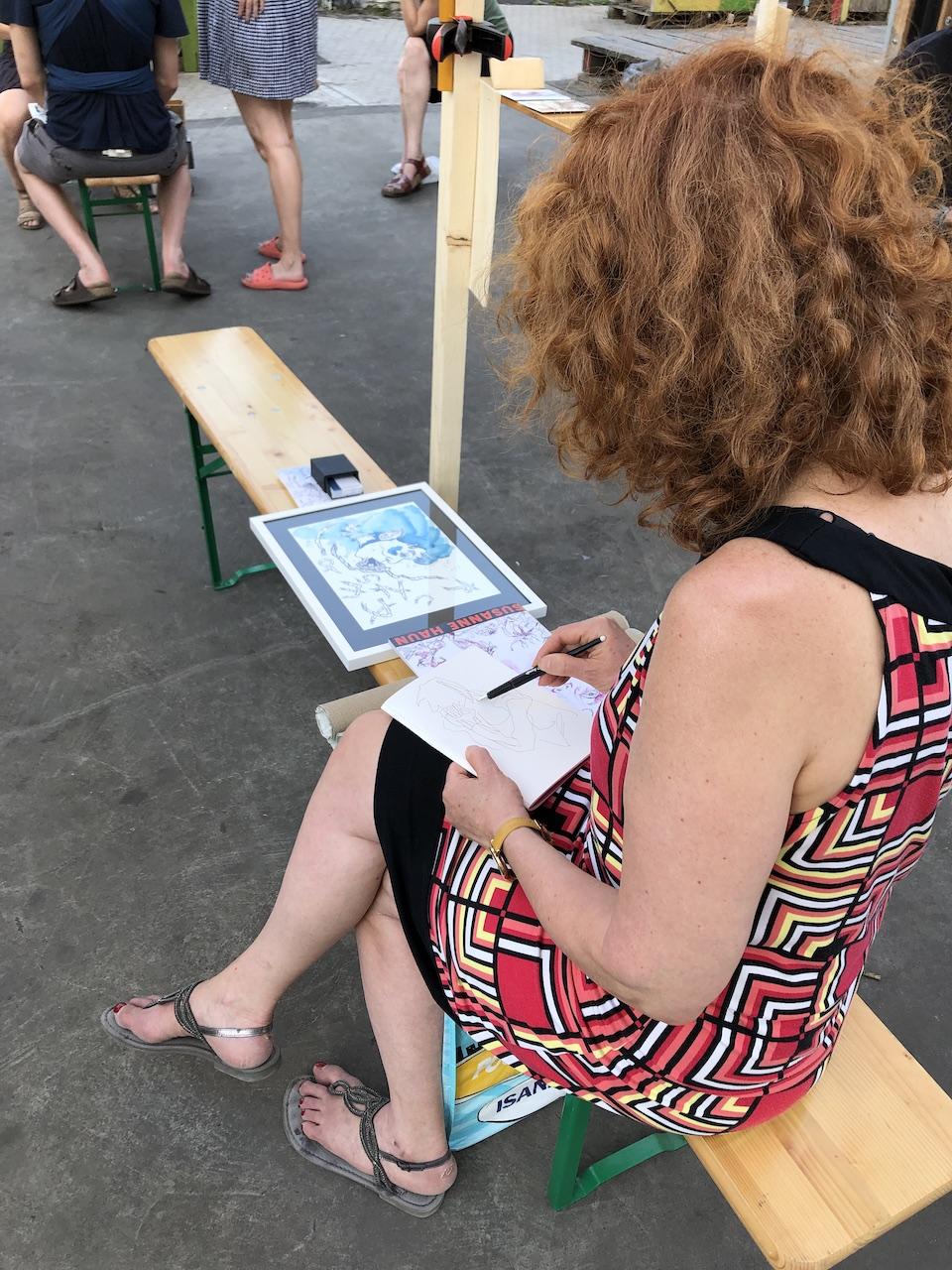 Art Speed Dating, Susanne Haun (c) Foto von Doreen Trittel