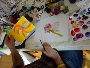 Workshop bei Susanne Haun (c) Foto von Susanne Haun