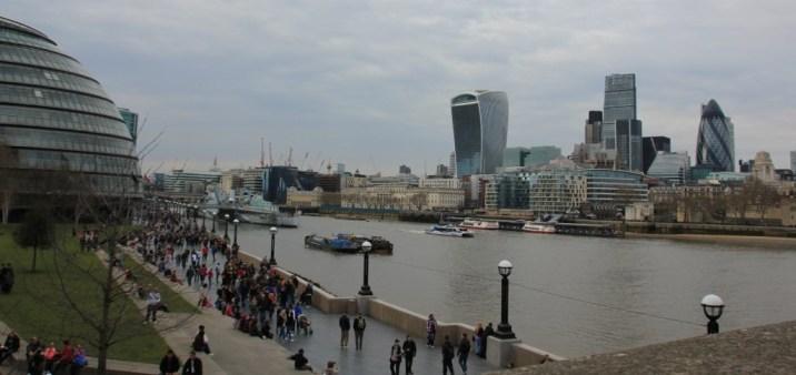Skyline London (c) Foto von Susanne Haun