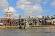 Millenium Bridge London (c) Foto von Susanne Haun