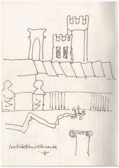 Cambridge (c) Zeichnung von Susanne Haun