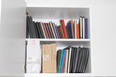 1 Skizzenbücher (c) Foto von Susanne Haun