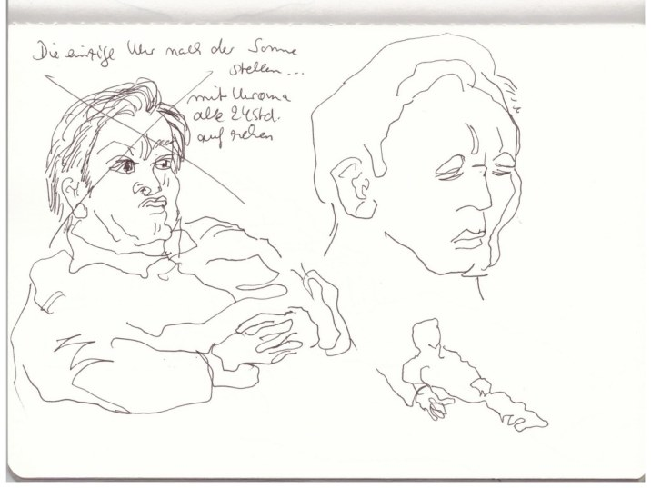 Papa (c) Zeichnung von Susanne Haun