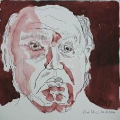 1 Meine Vorstellung von Seneca - Version 1 - 25 x 25 cm (c) Zeichnung von Susanne Haun
