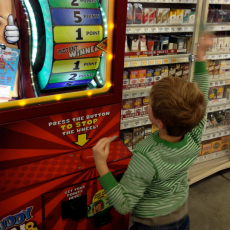 13 Steps to Playing the HEB Buddy Buck Machine