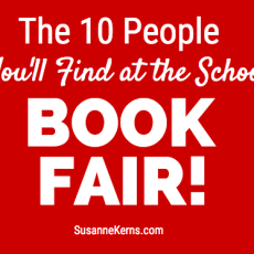 The 10 People You'll Find at the School Book Fair