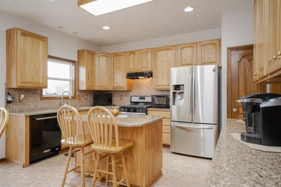 Simple upgrades make the kitchen look fresh and new