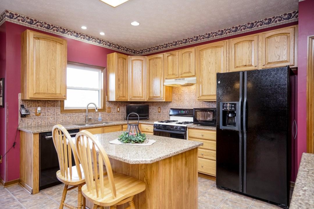 Landen Farm Drive kitchen before upgrades