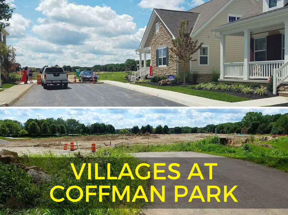 One of the subdivisions in Dublin: Villages at Coffman Park Subdivision