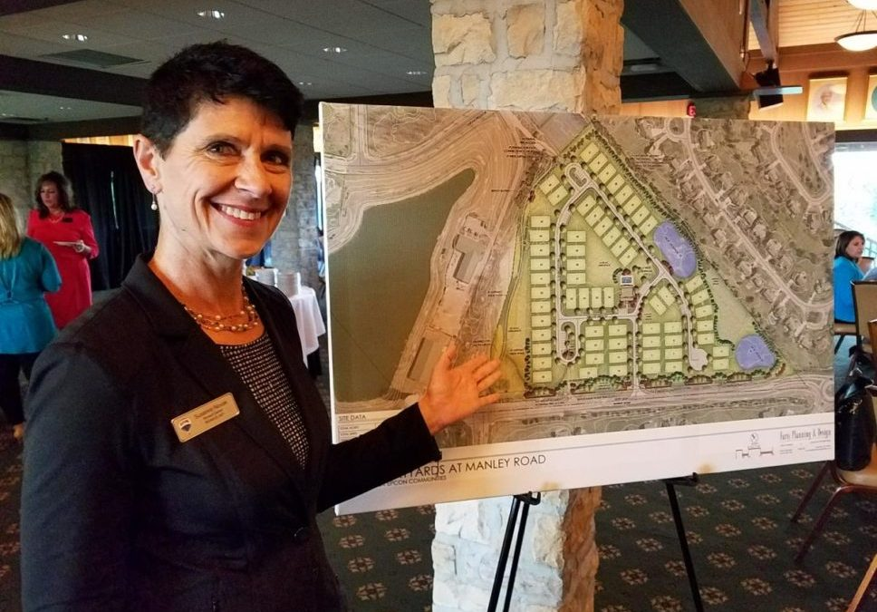 susanne showing a new subdivision that is being build in Muirfield