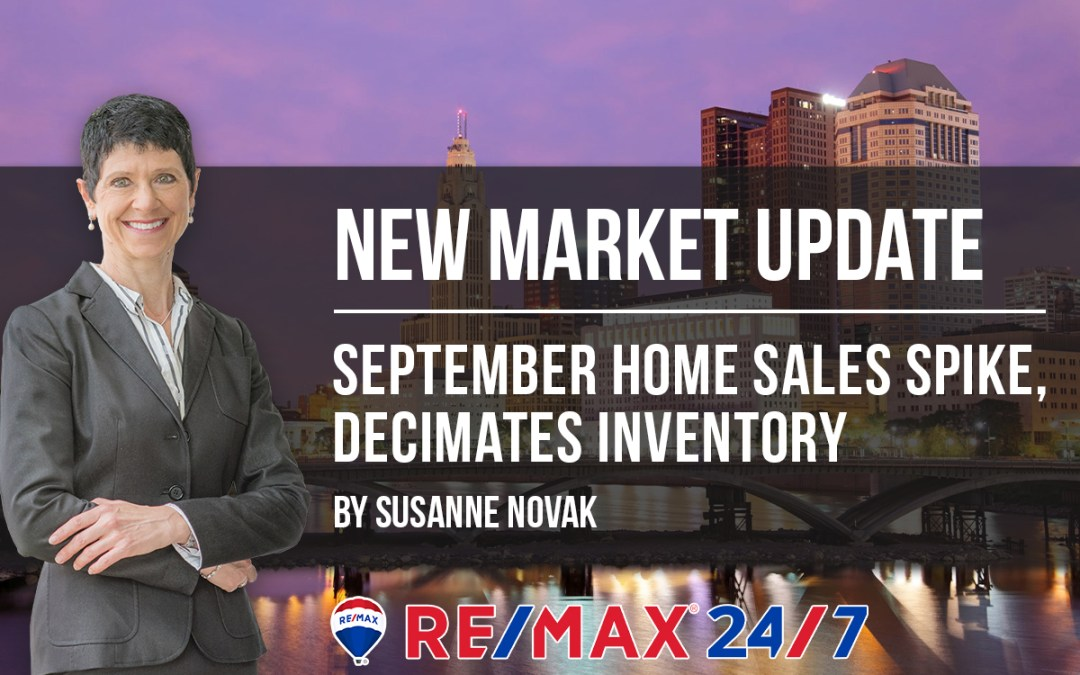 Market Update: September Home Sales Spike, Decimates Inventory