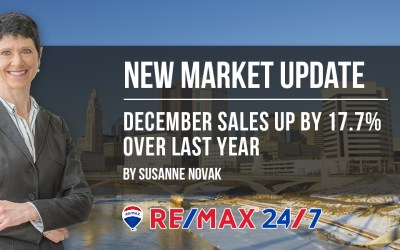 Market Update: December Sales UP by 17.7% over Last Year