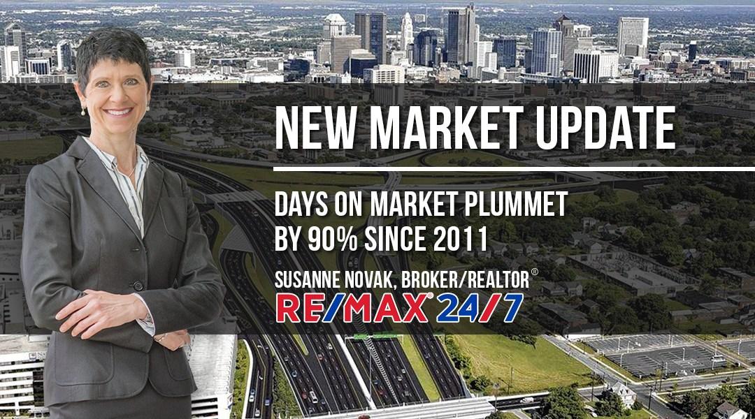Market Update: Days on Market Plummet by 90% since 2011