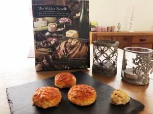 fantasy basel 2019 workshop kochshow elder scrolls kochbuch cheese scones