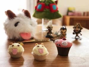 fantasy basel 2019 workshop kochshow league of legends lol kochbuch poro cupcakes teemo hut