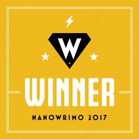 NaNo 2017 Winner Badge
