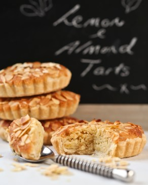 Lemon & Almond Tarts