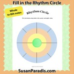 Rhythm Circle up to 8ths