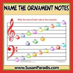 Name the Ornament Notes