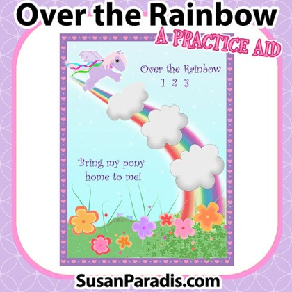 Over the Rainbow Practice Activity