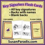 Key Signature Cards