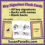 Key Signature Cards