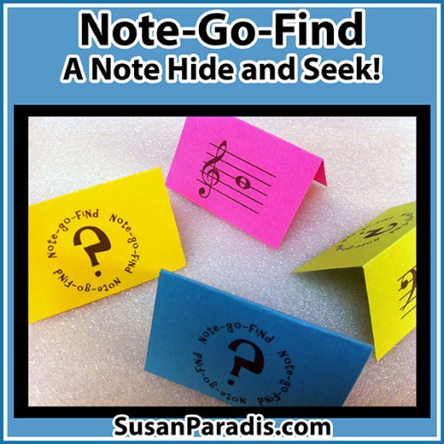 Note Hide and Seek