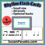 Rhythm Flash Cards
