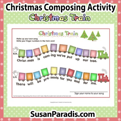 Christmas Composing Train